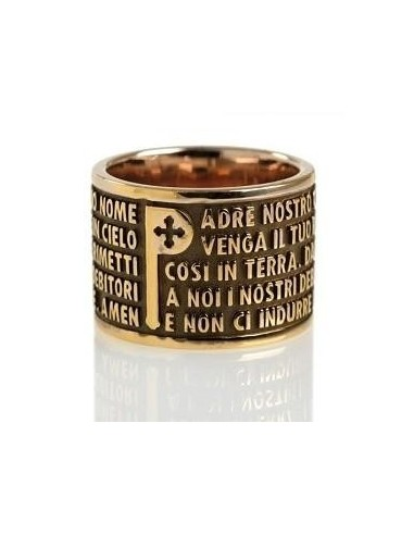 TUUM Ring in bronzed silver with the...