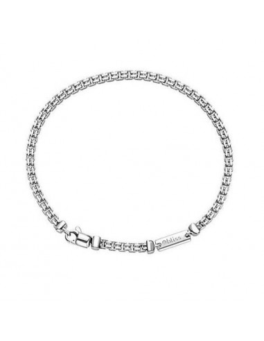 Bliss silver chain bracelet with...