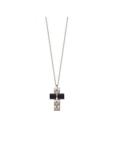 Admiral Bliss men's steel necklace...