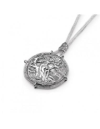 Gerardo Sacco silver necklace with...