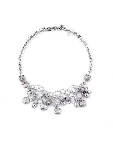 Collana in argento gioielli Suali BM0112