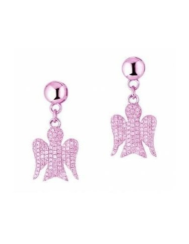 Giannotti earrings in pink silver and...