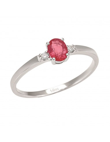 Bliss Briosa ring in white gold with...
