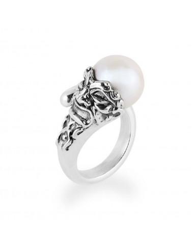 Gerardo Sacco ring in silver with...
