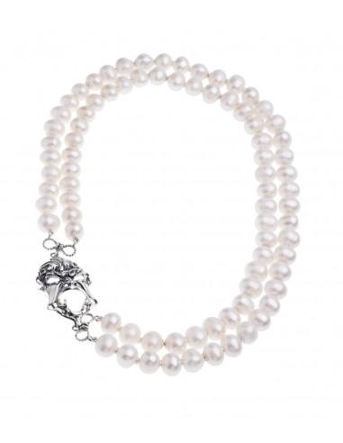 Collana di perle Gerardo Sacco con...