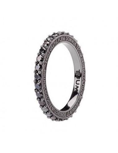 TUUM Ring TUAMLUX in Burnished Silver...