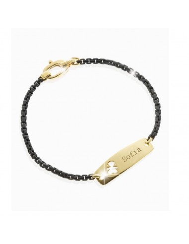 LeBebè bracelet with gold plate with...
