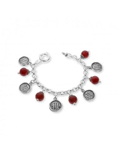 Gerardo Sacco bracelet in silver with...