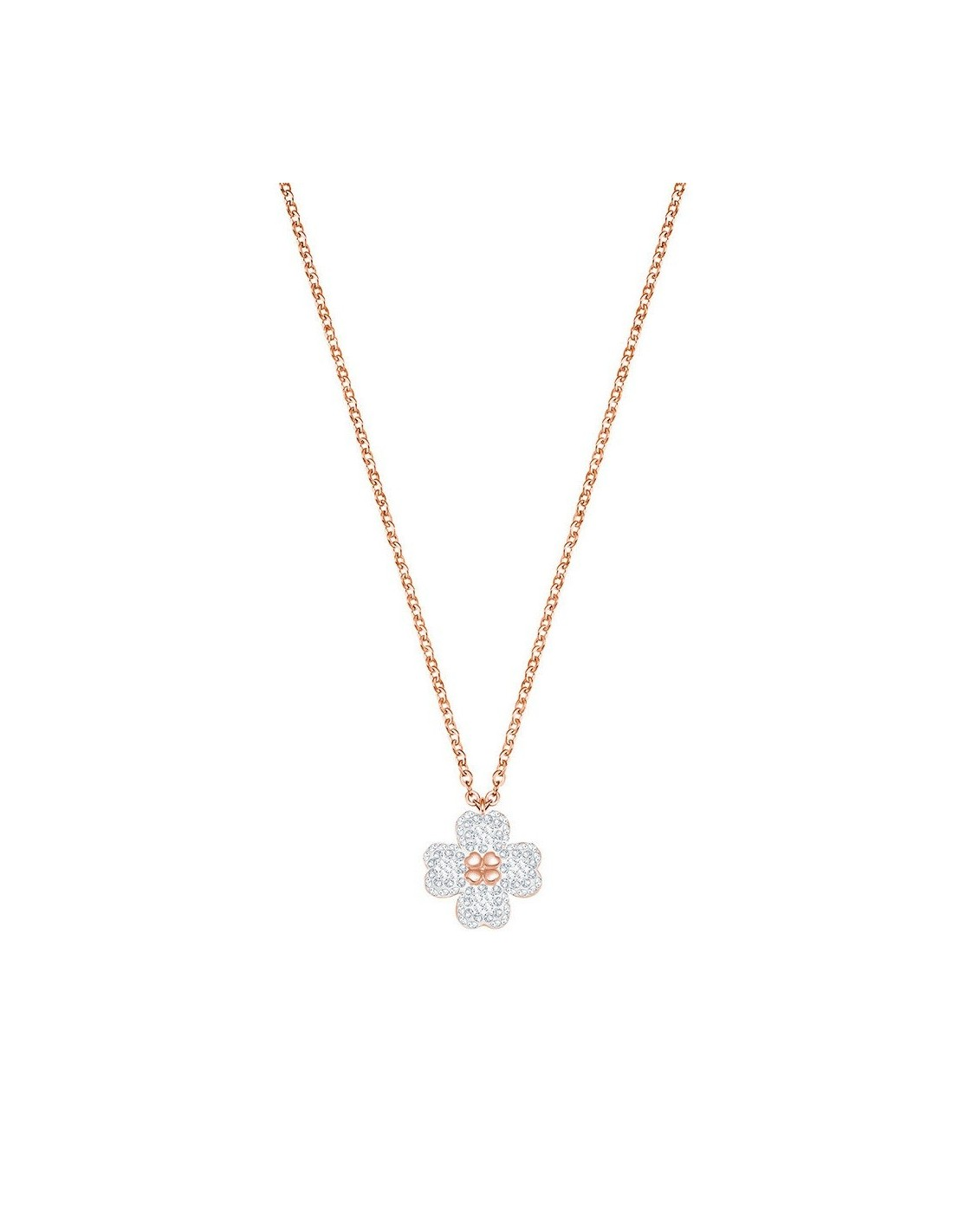 493ef19c7 ... Necklace Latisha Flower swarovski jewelry pendant rose gold plated  5420246. Previous