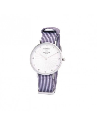 Women's Colonna watch, in steel and...