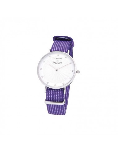 Colonna orologio da donna in acciaio...
