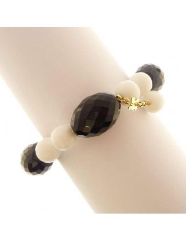 BON BON Rajola bracelet, in onyx gold...