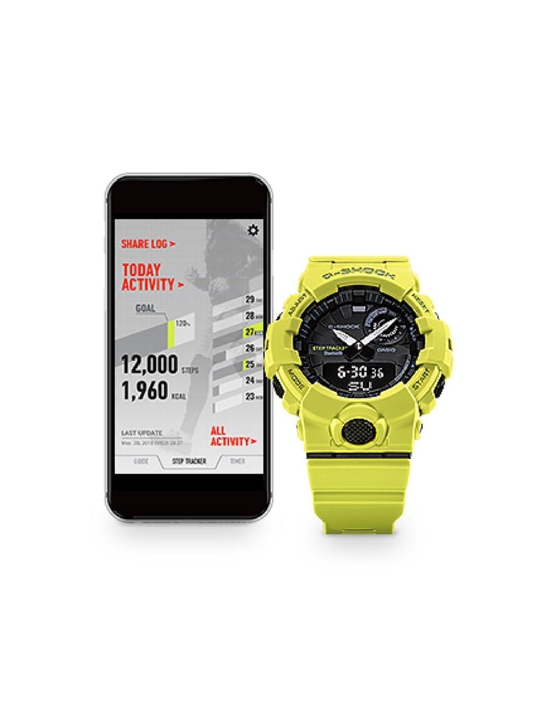 b1ddcee78a81 Casio G-Shock Smart Bluetooth Watch GBA-800-1AER