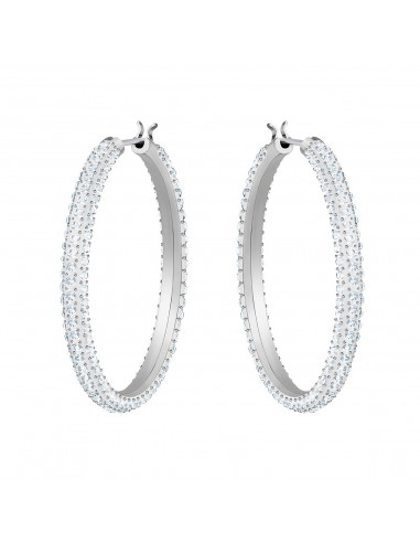 Swarovski Stone earrings rhodium...