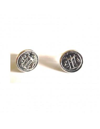 Gerardo Sacco earrings in silver...