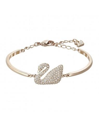 Swan Swarovski Bracelet Rose Gold...