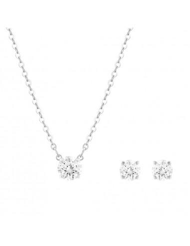 Set Attract Round Swarovski necklaces...