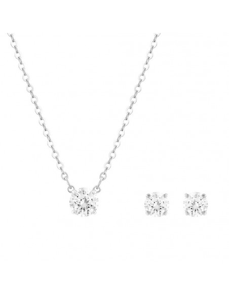... Set Attract Round Swarovski necklaces and earrings 5113468. Reduced  price 4327f9c7730