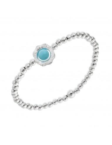 Capri Athena bracelet in silver and...