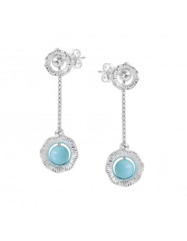 Capri earrings Athena silver pendants...