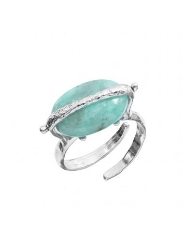 Portofino Athena ring in silver and...