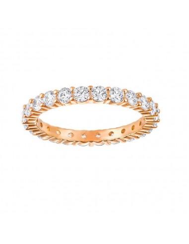 migliore a buon mercato tecniche moderne selezione straordinaria Anello Vittore XL gioielli Swarovski placcato oro rosa
