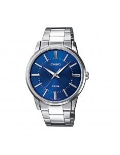 Casio men's watch in steel...