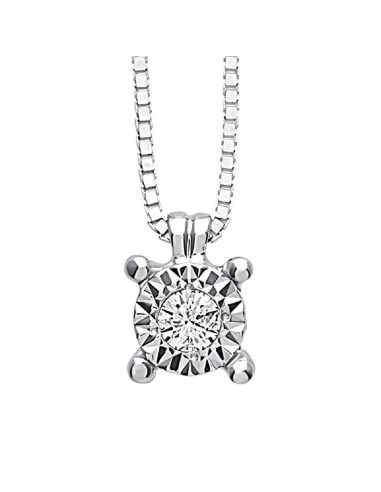 Bliss white gold and diamond point of...
