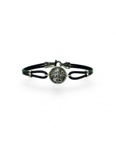 San Francesco bracelet in burnished...