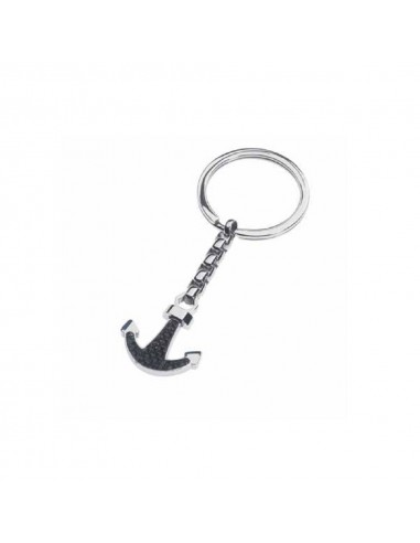 Key ring RossoAmante in steel and...