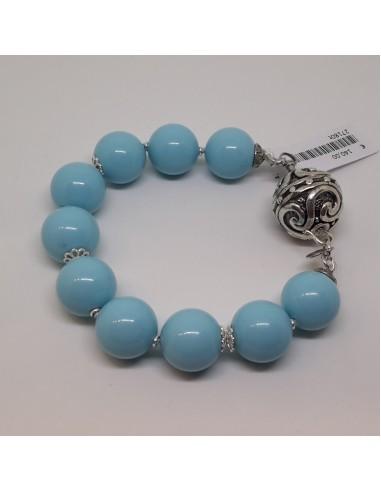 Silver bracelet with Gerardo Sacco...