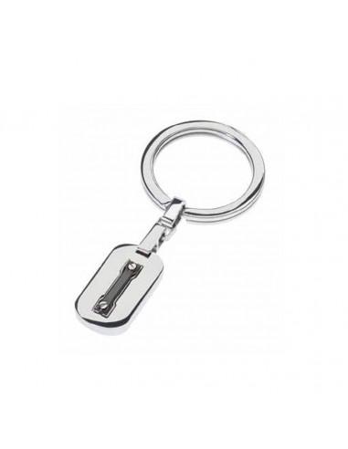 RossoAmante Men's key ring in PVD...