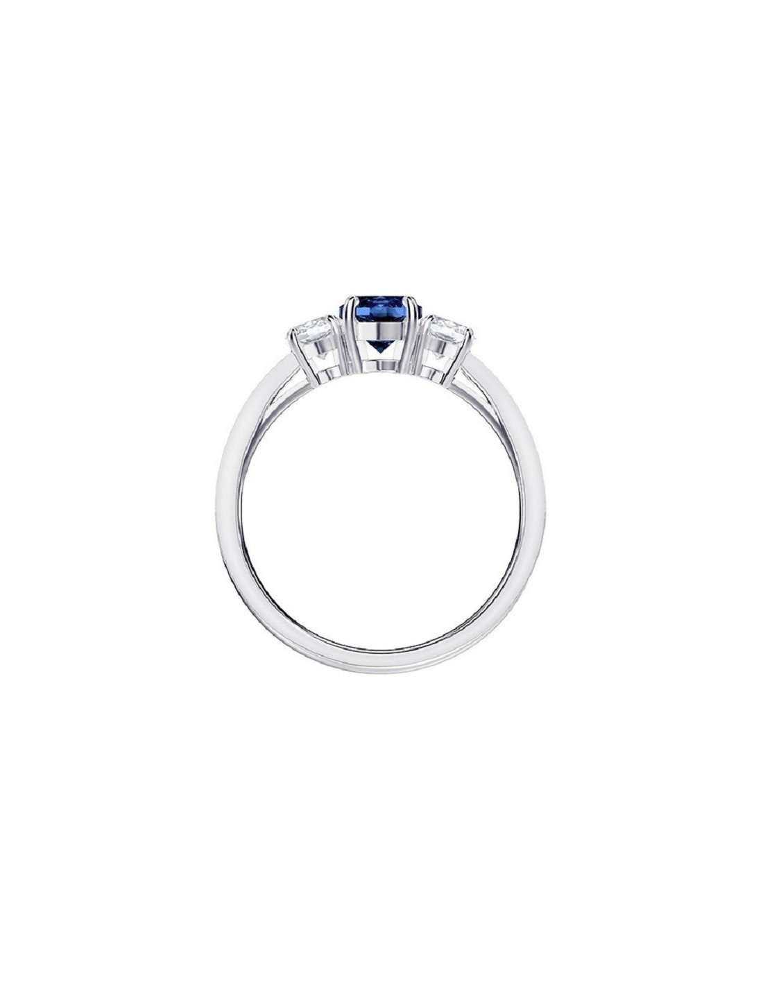 63331a43f ... Attract Ring Trilogy Round Swarovski blue jewelry size 55 5416152.  Previous