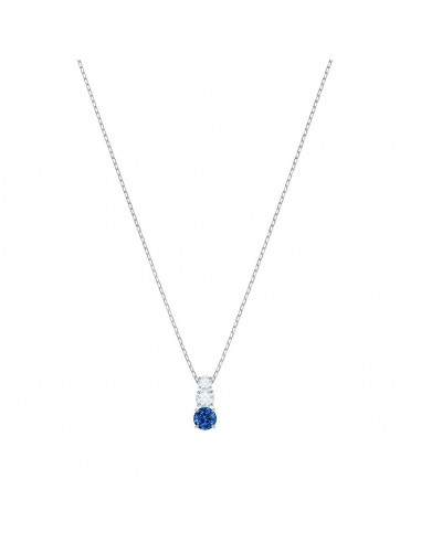 0574ace5da0 ... Attract Necklace Trilogy Round Swarovski jewelry light blue rhodium  plating 5416156. Previous