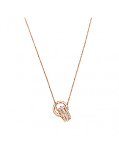 Swarovski Further Swan Necklace Rose...