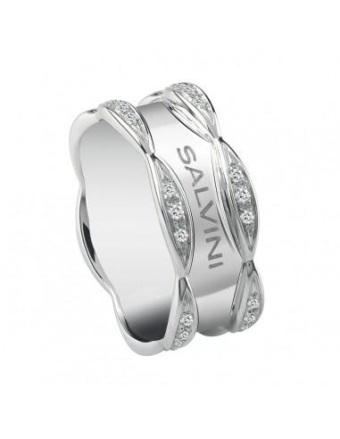 Salvini Sunny anello in oro bianco...