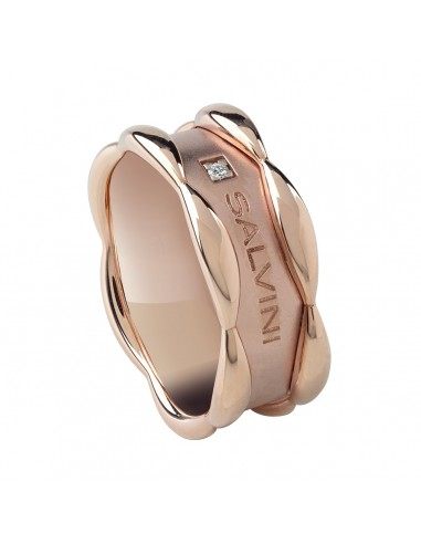 Salvini rose ring in rose gold with...