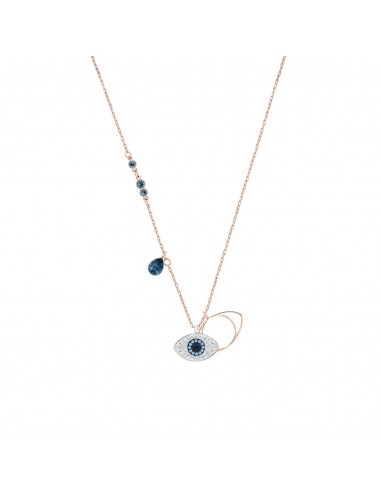 Swarovski Collana Duo Evil Eye...