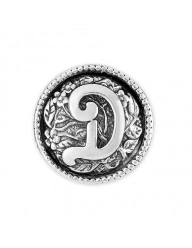 Chicca lettera D Twist gioielli...