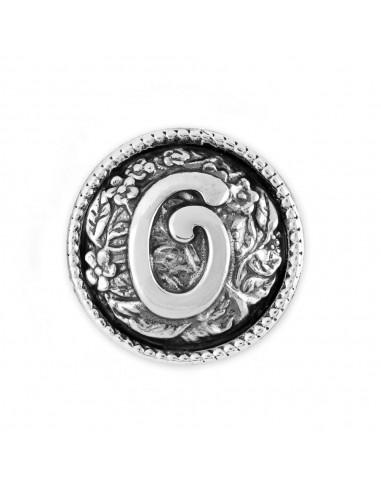 Chicca lettera O Twist gioielli...