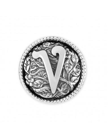 Chicca lettera V Twist gioielli...